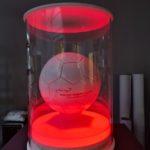 ekspozytor RGB piłki nożnej